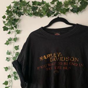 ☆ HARLEY DAVIDSON TEE ☆